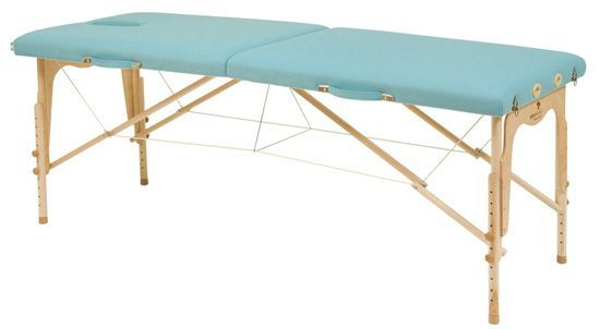 Ecopostural adjustable height massage couch, with tendor cable C3211