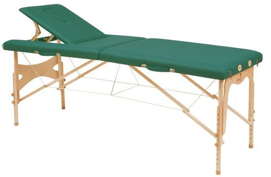 Ecopostural adjustable height massage cable table, C3209