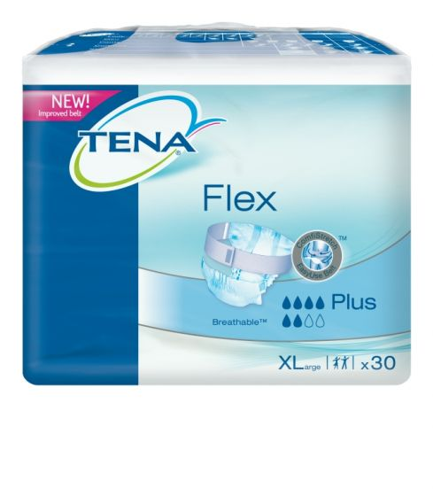 TENA Flex Plus Extra-Large Pack of 30