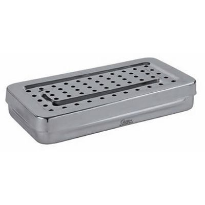 Stainless steel perforated boxes Holtex