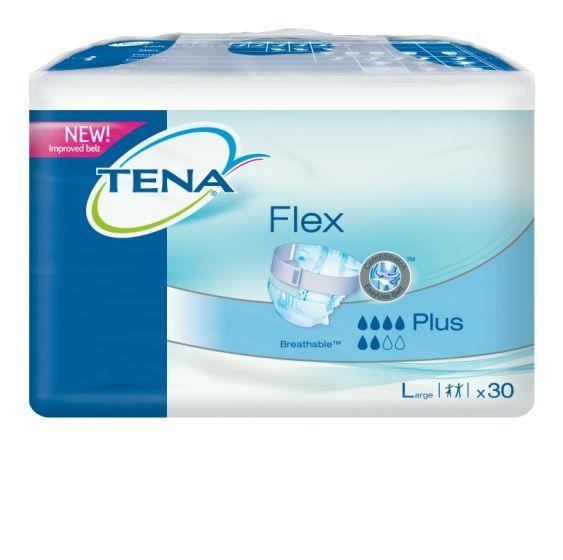 TENA Flex Plus Large Pack of 30
