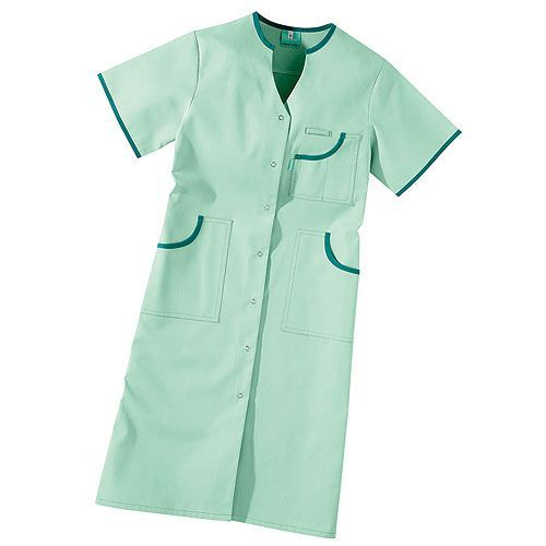 Women's scrub jacket with short sleeves, CEA