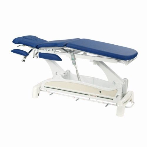 Ecopostural multi- purpose  electric table, with arm rests and circular rail foot control C3531M47