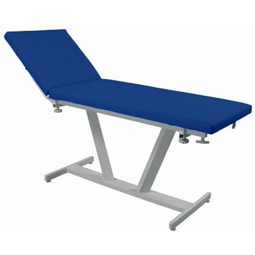 Examination couch Promotal Fidji flat upholstery