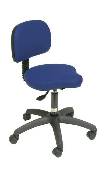 Ecopostural swivel stool with backrest Ecopostural S2639