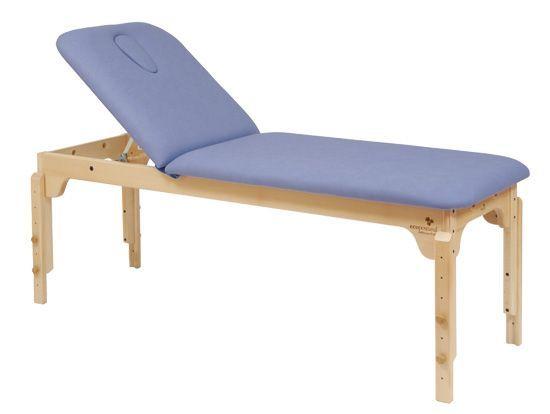 Ecopostural adjustable height wooden massage table C3120