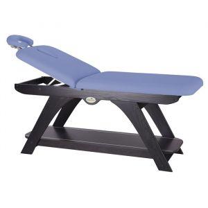 Stationary massage table Wengué Ecopostural C3250WM64