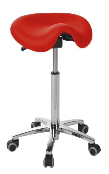 Ecopostural DERBY stool with chromium-plated base Ecopostural S4670