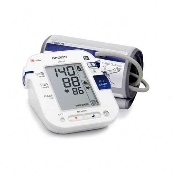 Omron M10 IT upper arm digital blood pressure monitor