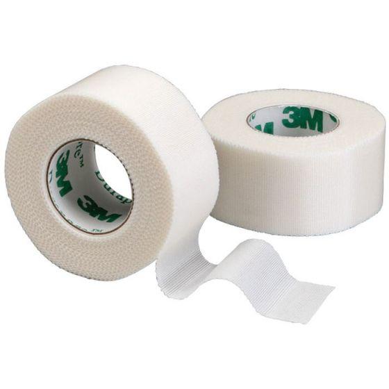 1 Box of plasters woven hypoallergenic 3M Durapore