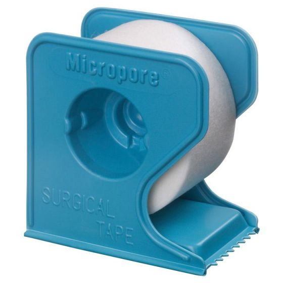 1 Box of plasters 3M Micropore - With blue reel