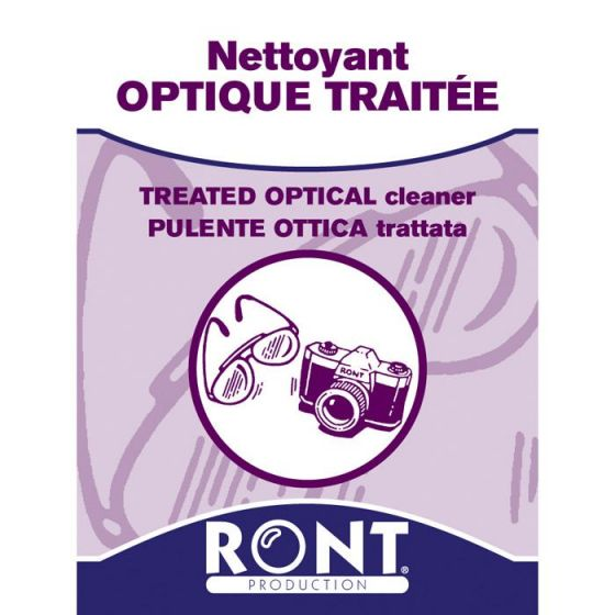 Treated optical cleaner Ront 23049, 100 pieces pack