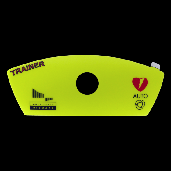 Sticker Automatic Defibrillator Schiller Fred Easy Training