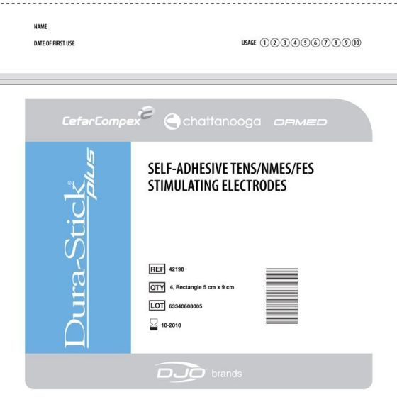 Cefar Compex Electrodes DURA-STICK PLUS Fil
