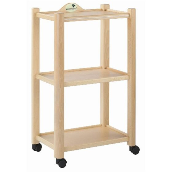 Ecopostural 3-shelves-trolley Ecopostural A4474