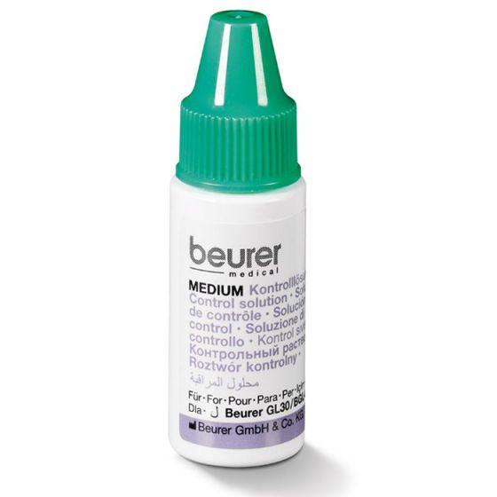 Beurer MEDIUM blood glucose control solution (medium measuring range)