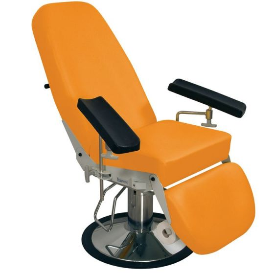 Hydraulic sampling chair Beaumond Promotal formed upholstery 2561