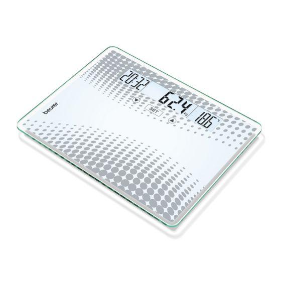 Glass scale XXL size up to 200kg  Beurer GS XXL