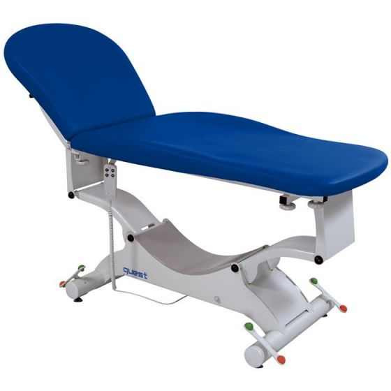 Examination couch Electrical Quest  Promotal Block'n Roll Anatomical upholstery