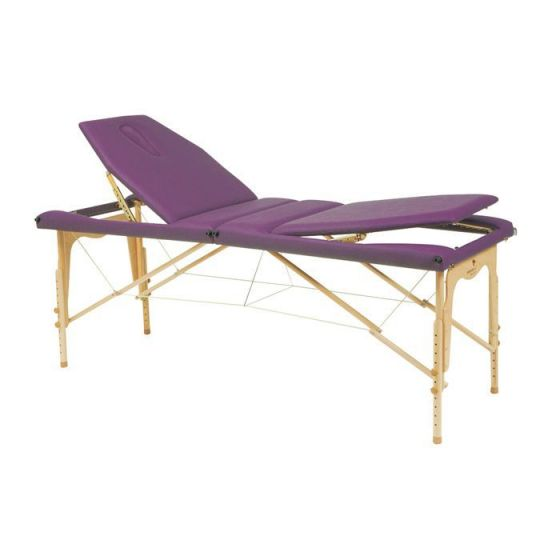 Ecopostural adjustable height massage cable table, C3213M61