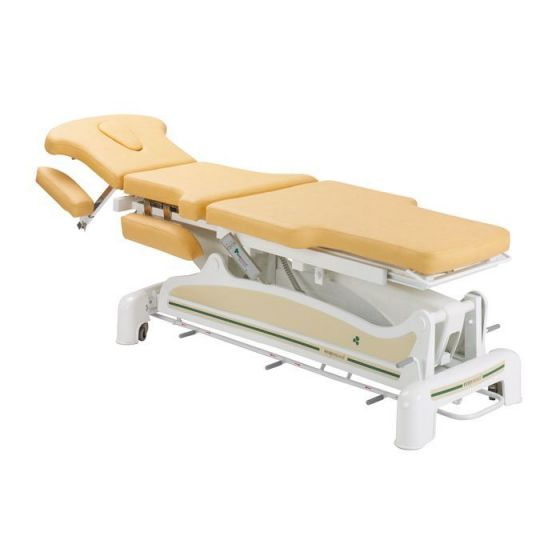 Ecopostural osteopathy electric table with narrow end Ecopostural C3561M57