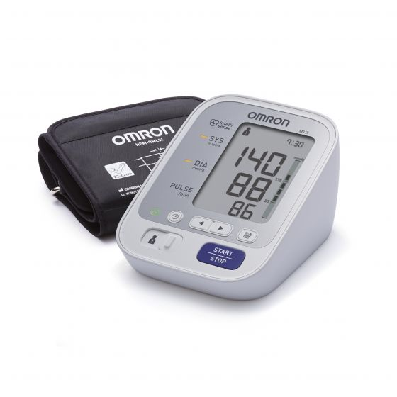 Blood Pressure Monitor Omron M3 IT HEM-7131U-E with USB cable