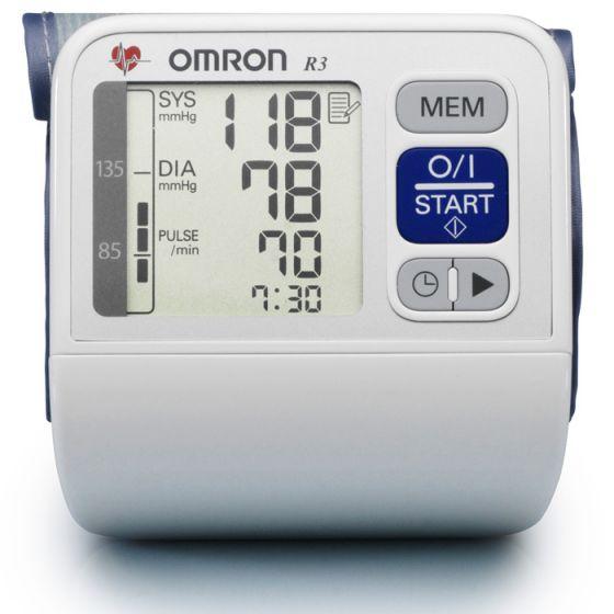 Omron R3-i Plus Wrist blood pressure monitor