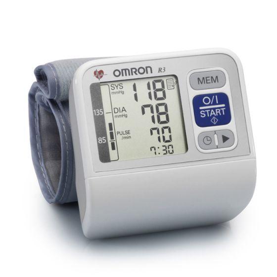 Omron R3, Wrist blood pressure monitor
